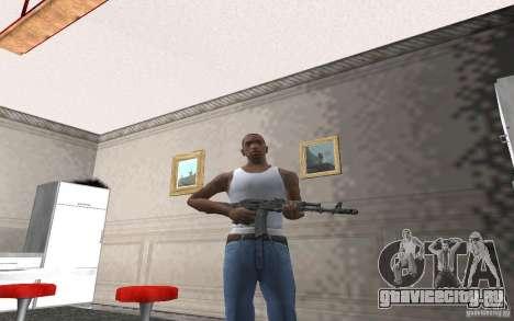 АК 74М для GTA San Andreas четвёртый скриншот
