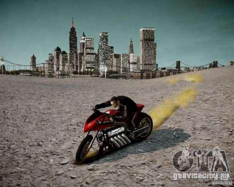 Drag Bike для GTA 4 вид сзади
