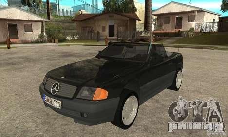 Mercedes SL-class 1995 для GTA San Andreas