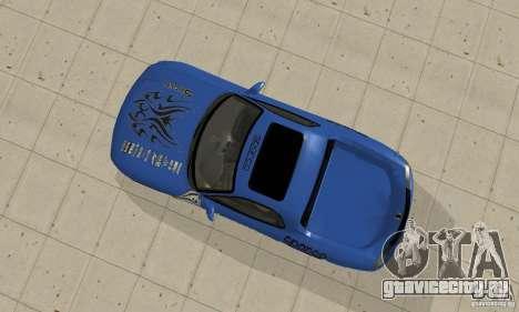 Mazda RX-7 Pickup для GTA San Andreas вид сзади