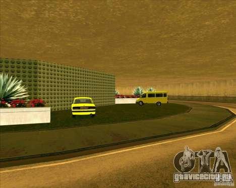 Припаркованый транспорт v3.0 - Final для GTA San Andreas четвёртый скриншот