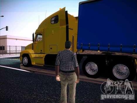 Freightliner Century Classic для GTA San Andreas вид слева