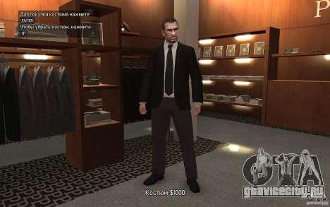 Открытые пиджаки с галстуками для GTA 4 третий скриншот