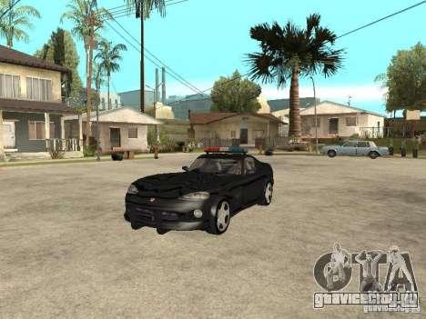 Dodge Viper Police для GTA San Andreas