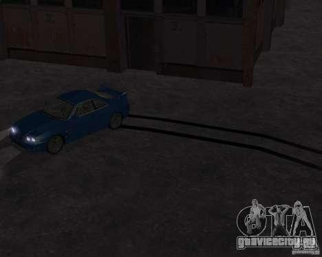 Nissan Skyline GT-R R-33 для GTA San Andreas вид сзади