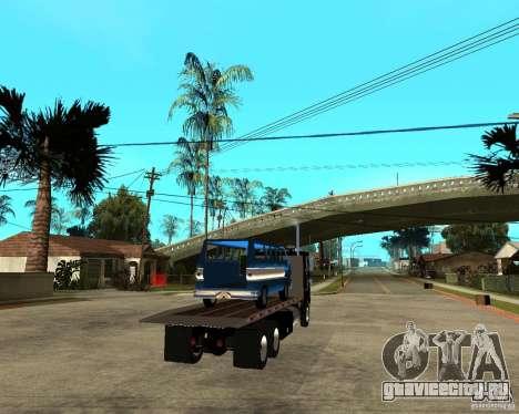 Peterbilt для GTA San Andreas вид сзади слева