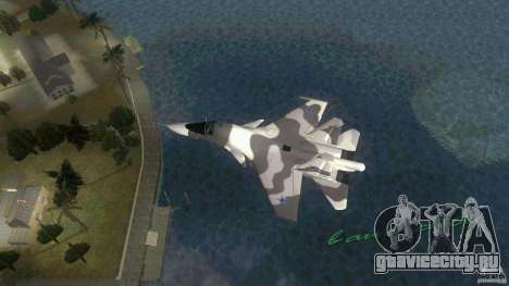 VC Air Force для GTA Vice City вид слева