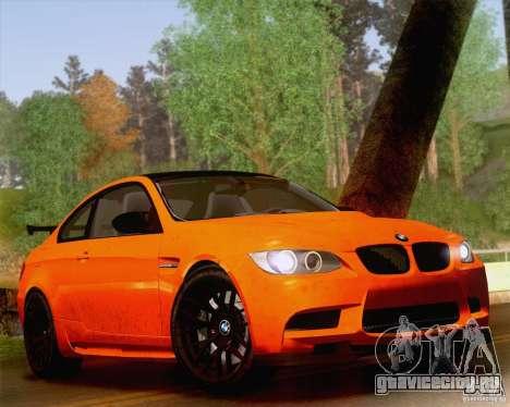 BMW M3 GT-S 2011 для GTA San Andreas вид изнутри