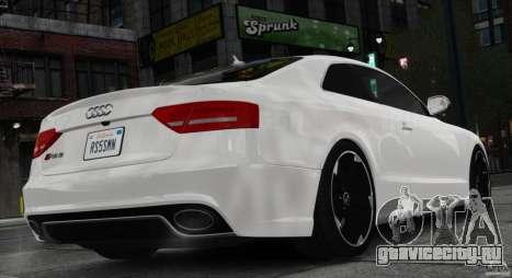 Audi RS5 2011 для GTA 4 вид слева