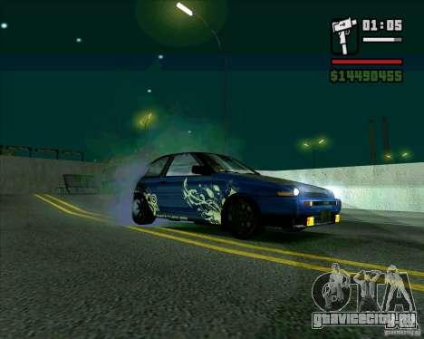 Toyota Trueno AE86 V3.0 для GTA San Andreas вид слева