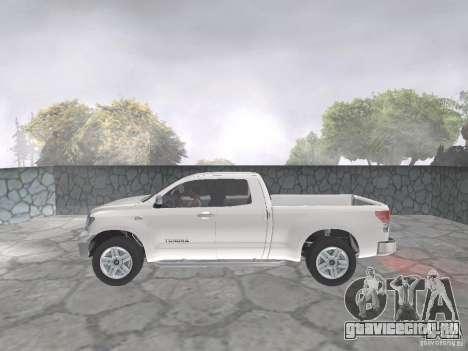 Toyota Tundra для GTA San Andreas вид сзади