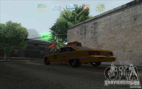 Radio Hud IV для GTA San Andreas третий скриншот