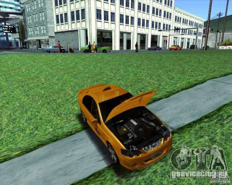 Ford Falcon XR8 Taxi для GTA San Andreas вид справа