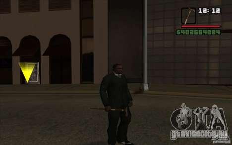 Новая трость для GTA San Andreas