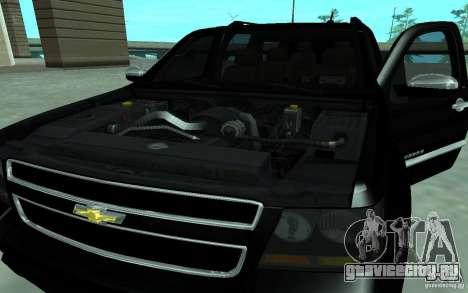 Chevrolet Suburban 2010 для GTA San Andreas вид сзади слева