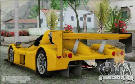 Radical SR3 RS 2009 для GTA San Andreas вид слева