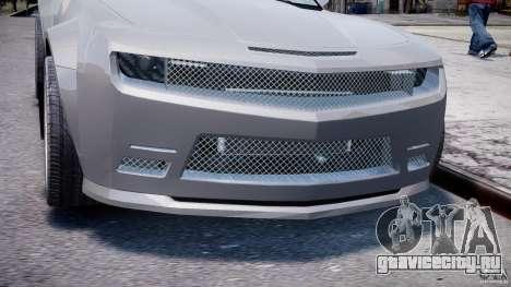 Chevrolet Camaro 2009 для GTA 4 вид сбоку