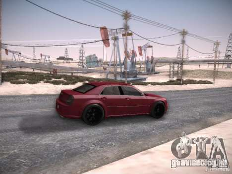 Chrysler 300C SRT8 для GTA San Andreas вид справа