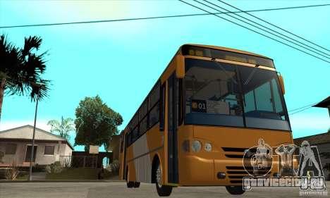 CAIO Alpha Mercedes-Benz OH-142051 skin Zona C для GTA San Andreas вид сзади