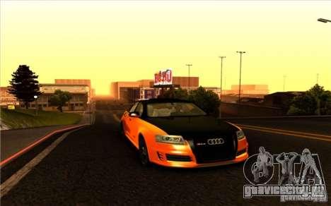 Audi RS6 Black Edition для GTA San Andreas