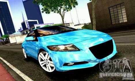 Honda CR-Z 2010 V2.0 для GTA San Andreas вид слева