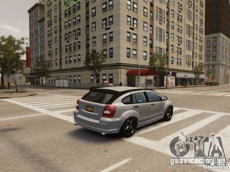 Dodge Caliber для GTA 4 салон