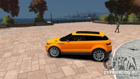 Range Rover LRX 2010 для GTA 4 вид слева