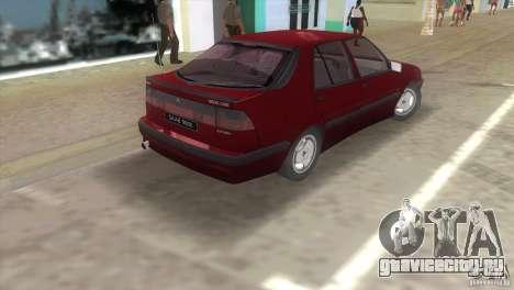 SAAB 9000 Anniversary v1.0 для GTA Vice City вид сзади слева