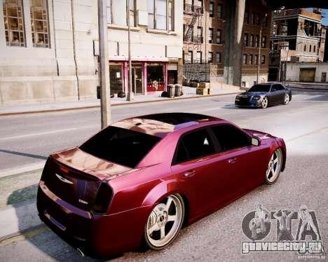 Chrysler 300 SRT8 DUB 2012 для GTA 4 вид сзади