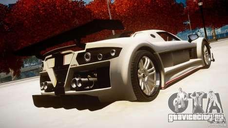 Gumpert Apollo Sport KCS Special Edition v1.1 для GTA 4 вид слева