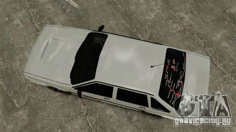 Volkswagen Santana Shanghai Century Rookie для GTA 4 вид справа