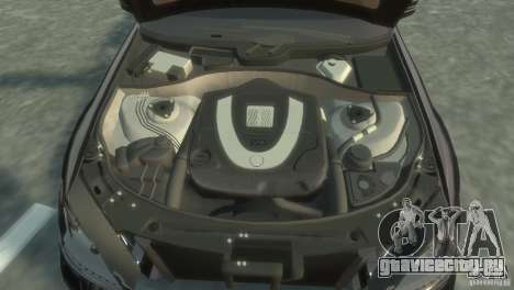 Mercedes-Benz S350 VIP для GTA 4 вид сверху