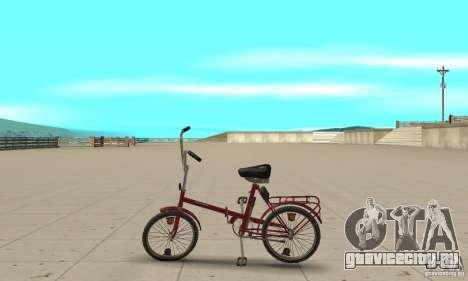 Кама велосипед для GTA San Andreas вид слева