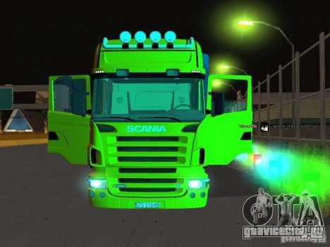 Scania R620 для GTA San Andreas вид сбоку