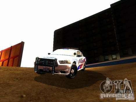 Dodge Charger 2011 Toronto Police для GTA San Andreas вид изнутри