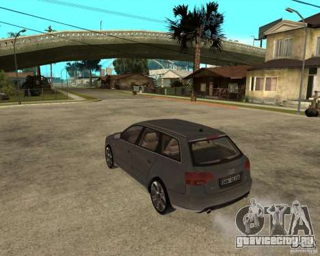 Audi A4 2005 Avant 3.2 quattro для GTA San Andreas вид слева