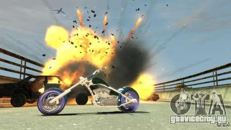 HellFire Chopper для GTA 4 вид сбоку