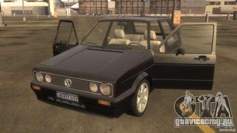 Volkswagen Golf для GTA 4 вид слева
