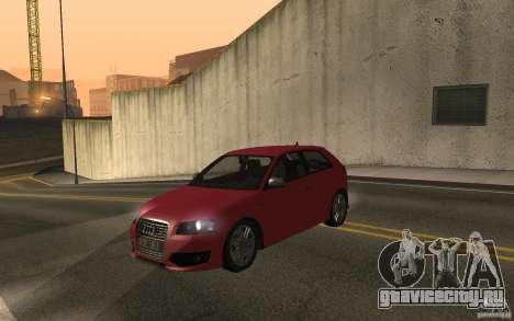 Audi S3 Tunable для GTA San Andreas вид справа