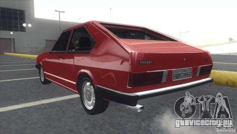 Volkswagen Passat TS 1981 Original для GTA San Andreas вид слева