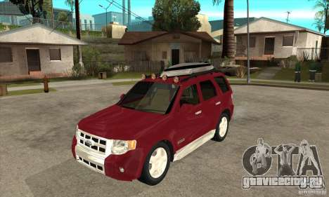Ford Escape 2009 для GTA San Andreas