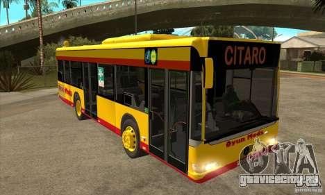 Mercedes-Benz Citaro K для GTA San Andreas вид сзади
