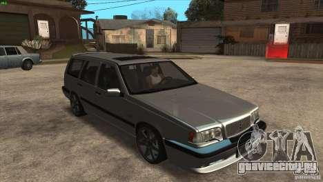 Volvo 850 R для GTA San Andreas вид сзади