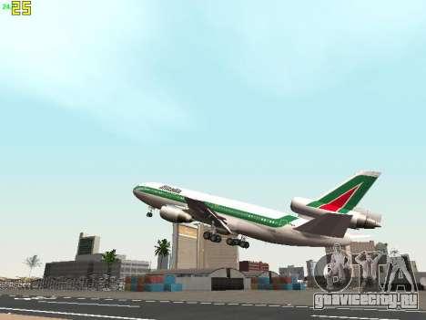 McDonell Douglas DC-10-30 Alitalia для GTA San Andreas