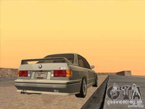 BMW M3 E30 1991 для GTA San Andreas вид слева