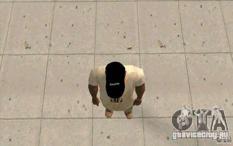 Кепка WCC для GTA San Andreas третий скриншот