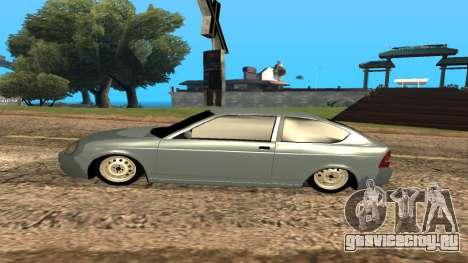 ВАЗ 2172 Приора для GTA San Andreas колёса