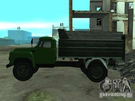 ГАЗ 53 Самосвал для GTA San Andreas вид слева