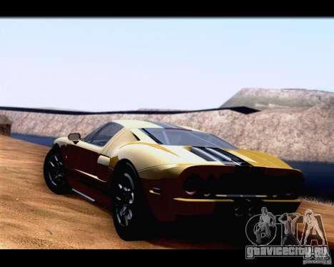 SA_NGGE ENBSeries для GTA San Andreas третий скриншот