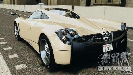 Pagani Huayra 2011 v1.0 [RIV] для GTA 4